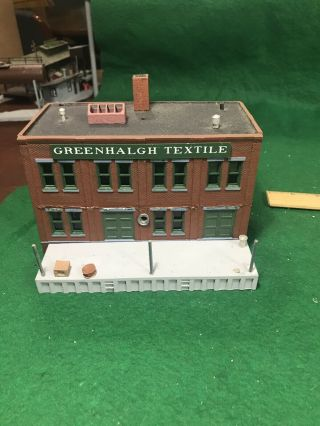 Ho Scale Greenhalgh Textile Mills Building (ho64628)