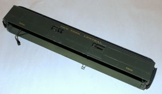 American Standard Baggage Car Shell - York Central - O Scale