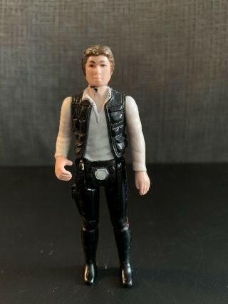 Vintage Star Wars 1977 Han Solo Small Head Variant Coo Hk