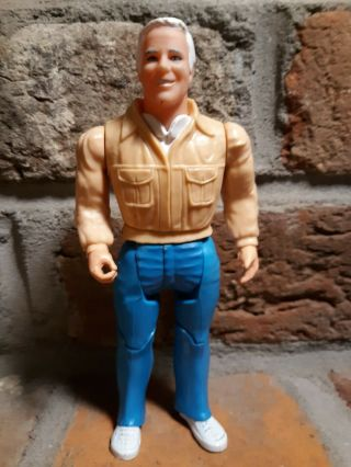 "Vintage 1983 Galoob A Team Hannibal Action Figure 6 "" 1980s Tv Show Good Joints 1"