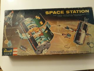 Rare 1/96 Scale Revell Space Station - The Holy Grail Of Models - A Complete Kit