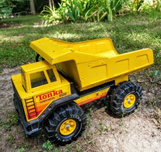 Tonka Steel Turbo Diesel Dump Truck With All Decals,  54782 A Xmb - 975