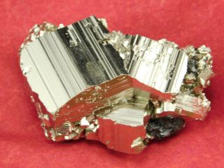 A Small And 100 Natural Pyrite Crystal Cube Cluster From Peru 68.  7gr