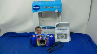 Vtech Kidizoom Duo Camera,  4x Digital Zoom,  70 Photo Effects,  Games - Blue -