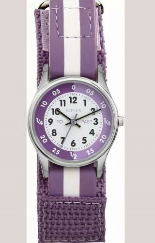 Reflex Girls Analogue Classic Quartz Watch With Textile Strap Refk0004