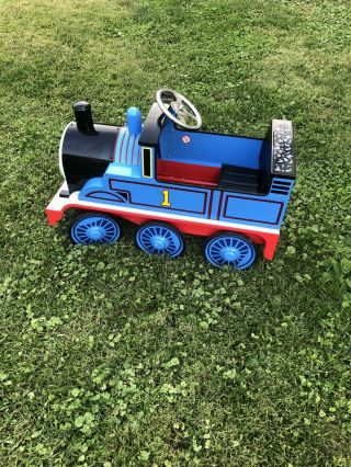 Rare Thomas And Friends Pedal Train - Airflow Collectibles Inc Cond.
