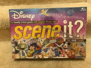 Disney Scene It? Dvd Game - 2004 Edition - - Never Played