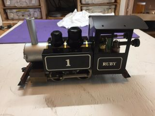 Accucraft G Scale Live Steam Ruby