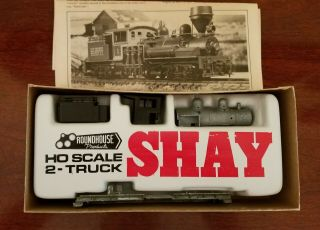 Ho Two - Truck Shay Kit Unlettered Roundhouse