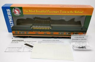 Walthers 932 - 9039 Ho Great Northern Empire Builder Budd 48 - Seat Vista Dome/box