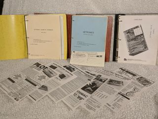 Netronics Elf Ii Vintage Computer Assembly Manuals And Brochures Notes
