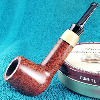 Unsmoked 2019 Cornelius Manz Compact Thick Lovat Freehand German Estate Pipe