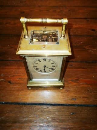 Barn Find Wordley & Co Paris Carriage Clock Repeater.  (1850 - 1890)