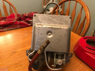 Vintage Eco Air Meter - Tireflator - Service Gas Station Air Pump Antique Old
