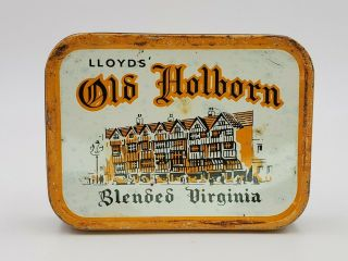 Vintage Pipe Tobacco Tin Lloyd