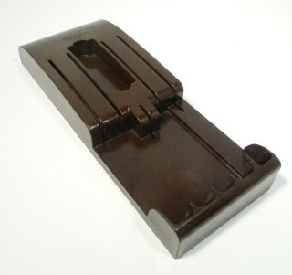Vintage Bakelite Cutco 6 Knife Holder For The Wall Or Drawer,  Good Cond
