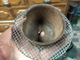 Vintage Briggs & Stratton Rope Starter Pulley And Screen