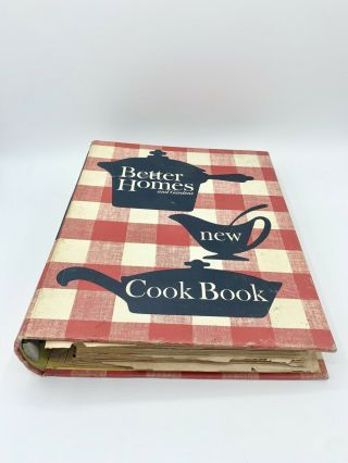 Vintage Better Homes & Gardens Cookbook Revised Edition 8th Printing