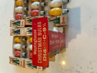 Vintage Westinghouse C9 Christmas Lights