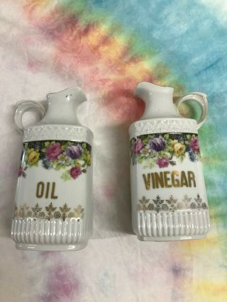 Vintage German Oil And Vinegar Set,