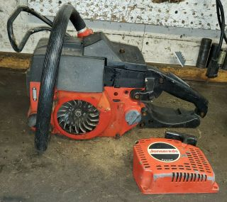 Jonsered Chainsaw 451e Seized