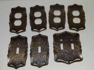 Vintage Sa Amerock Light Switch And Wall Outlet Carriage House Cover Plates