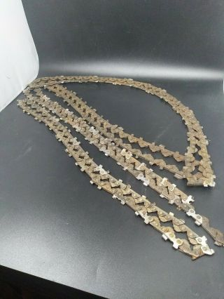 Vintage Antique Mall Chainsaw Chains 4 Chains