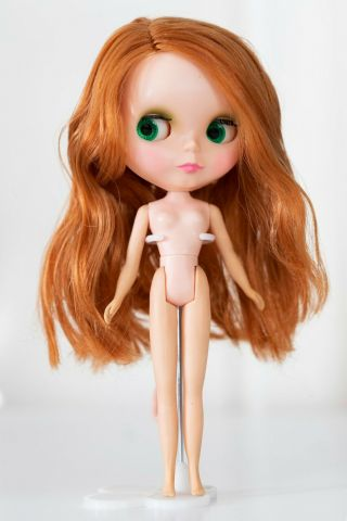 1972 Vintage Kenner Blythe Doll Red Head With Dress