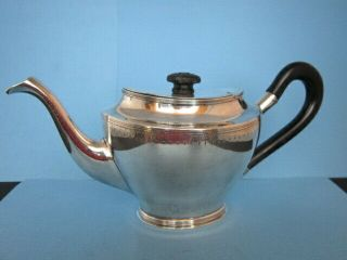 Antique Early 19th C.  French Hallmarked 800 Silver Solitaire Size Teapot Nm 400g
