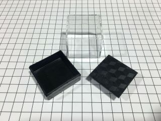 10 Mineral Specimen Boxes Black Tables - Crystal Showcase - Made In Australia