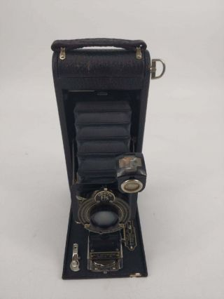 Vintage Kodak No.  1a Autographic Special Folding Camera With Case