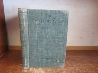 Old Earth Geology Book 1899 Rock Glacier Volcano Fossil Coral Mineral Metal Soil